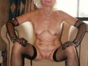 Grossmutter bietet Omasex